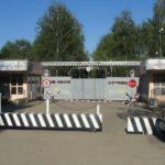 Фото КПП воинской части