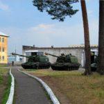 Фото танков в воинской части