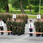 Присяга в войсковой части