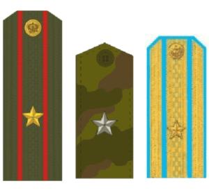 погоны майора армии