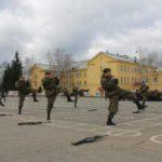 Фото тренировки солдат