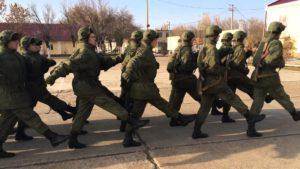 Фото марша солдат