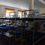 Кровати в казарме