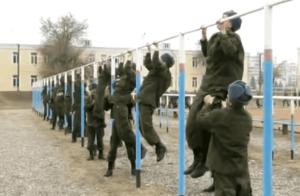 Тренировка солдат