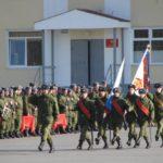 Солдаты в воинской части